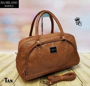b621e0b3b Da Milano Barolo Tan Duffle Bag | Digin - Your Market is here!