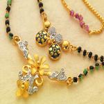 PNG Gold Mangalsutra Design 17