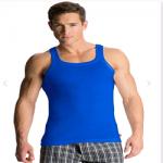 Jockey Neon Blue Square Neck Vest