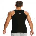 Jockey Black Racer Back Shirt
