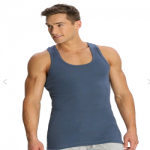 Jockey Iron Blue Racer Back Shirt