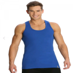 Jockey Shadow Blue Racer Back Shirt