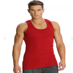 Jockey Shanghai Red Racer Back Shirt