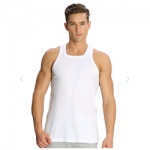 Jockey White Basic Power Vest