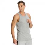 Jockey Grey Melange Basic Power Vest