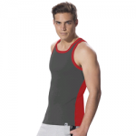 Jockey Graphite & Team Red Fashion Power Vest