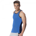 Jockey Neon Blue & Navy Fashion Power Vest