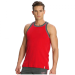 Jockey Men Team Red & Graphite Fashion Power Vest