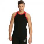Jockey Men Black & US Red Fashion Power Vest