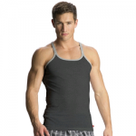 Jockey Men Charcoal Melange & Grey Melange Metro Fashion Vest