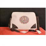 Handloom Cotton Bag Madhubani Painting