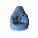 XL regular Bean bag Royal Sued Denim