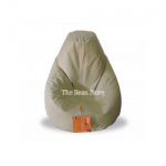 XL Premium Bean Bag Ivory Two Tone