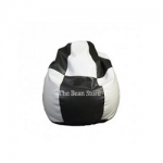 XL Premium Bean Bag black white checks