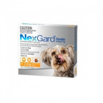 NexGard 3 Pack for Dogs 2-4 kgs