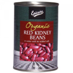 Epicure Organic Red Kidney Beans In Water 400.00 gm