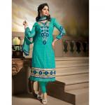 Tanuzstore Straight Cut Anarkali Dress