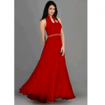 Tanuzstore Party Wear Red Valentine Gown