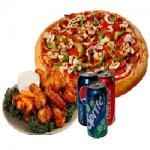 Veg Pizza Combo Meals