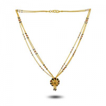 PNG FLORAL CHARM MANGALSUTRA