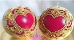 Festival Decorative Heartshape Candles