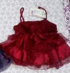 Ratrani Girls Red Dress