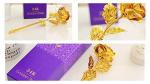 Valentine 24 K Golden Rose