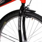HERCULES Brut Single Speed 26T Road Cycle (Red)