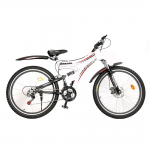 Hercules Roadeo A100 VX 26T 21 Speed Mountain Bike (White/Black)