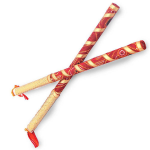 Handmade Bandhni Garba Dandiya Sticks For Couple