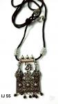 Gorgeous Black Threaded Oxidized German Silver Pendant Set