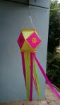 Diwali Traditional Hanging Handmade Lantern (Pi...