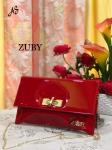 ZUBY Women's Red Party Wear Clutch