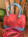 Women's Fashion PVC Jelly Sling Bag-Peach