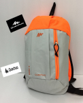 Quechua Arpenaz 10 Litre Hiking Backpack (Grey / Orange)