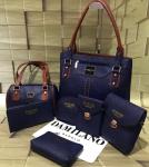Damilano Combo Pack Of 7 in 1 Hand Bag-Dark blue