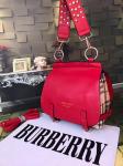 Burberry Cross Body Shoulder Bag-Red