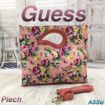 GUESS Peach Picnic Bags