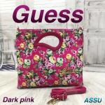 GUESS Dark Pink Picnic Bags
