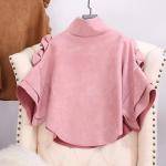 Beautiful Pink Ponchu Style Top