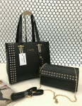 Da Milano Combo Pack Of 2 Black Handbag,Sling  bag