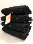 Arrow Black Cotton Slim Fit Shirt- Size - M