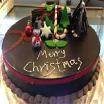 CakesNCakes Christmas Chocolate Cake