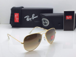 Ray-Ban Aviator Sunglasses (Brown)