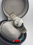 Rado Silver Dial & Gold And Silver -Toned Watch For Women
