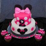 CakesNCakes Mini Mouse Fondant cake 2 Kg