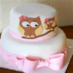 CakesNCakes 2 Tier Baby Shower Cake