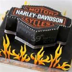 CakesNCakes Harley Davidson Cake