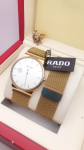 Rado Silver Colour Dial & Rose Gold Colour Case Watch For men (Pack of 2)