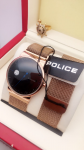 Rado Black Dial & Rose Golden Case Police Watch For men